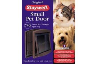 Staywell Lock 730 Pet Door (Brown) (One Size)