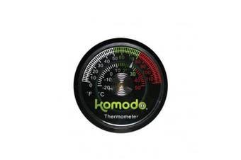 Komodo Habitat Reptile Thermometer (Black) (One Size)