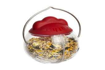 Feathers And Beaky Peck It Chicken Treat Dispenser (Multicoloured) (One Size)