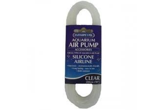 Interpet Aquarium Air Pump Silicone Air-Line Tubing (Clear) (One Size)
