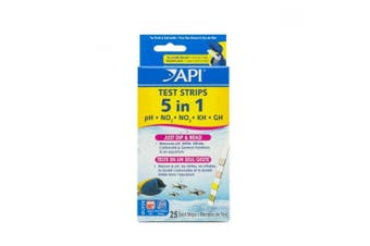 API 5 In 1 Aquarium Test Strips (Pack Of 4) (May Vary) (One Size)