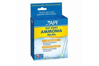 API Ammonia Test Strips For Fish (Pack Of 25) (May Vary) (One Size)