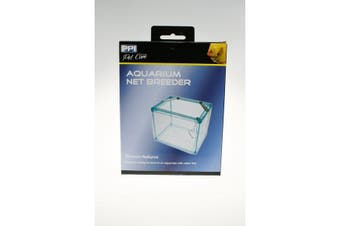 PPI Aquarium Net Breeding Trap (White) (One Size)