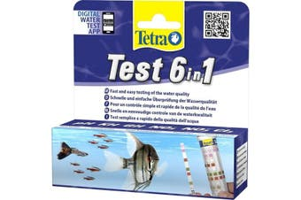Tetra 6 In 1 Water Test Strips (May Vary) (One Size)
