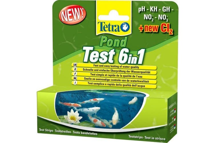 Tetra Pond 6 In 1 Test Strips (May Vary) (One Size)