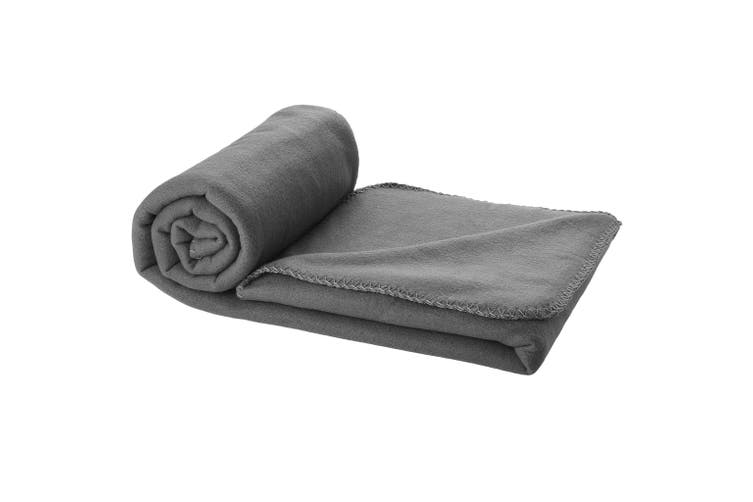 Bullet Huggy Blanket And Pouch (Anthracite) (150 x 120 cm)
