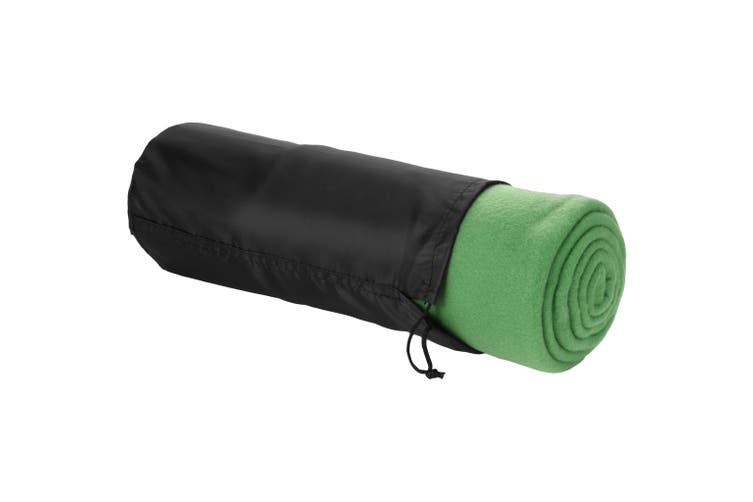 Bullet Huggy Blanket And Pouch (Green) (150 x 120 cm)