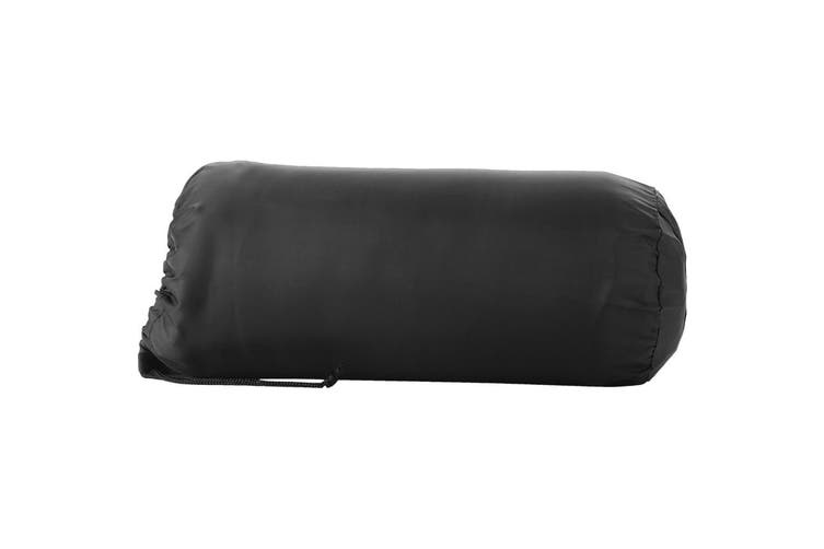 Bullet Huggy Blanket And Pouch (Solid Black) (150 x 120 cm)