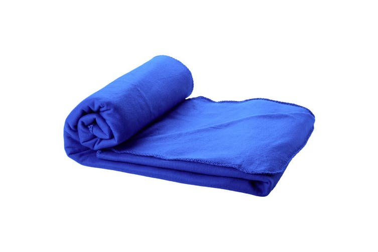 Bullet Huggy Blanket And Pouch (Royal Blue) (155 x 120 cm)
