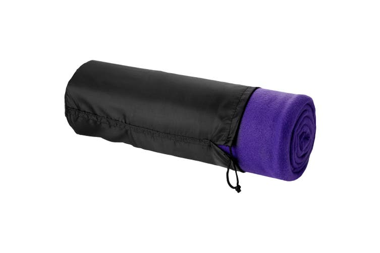 Bullet Huggy Blanket And Pouch (Purple) (150 x 120 cm)