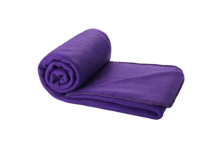 Bullet Huggy Blanket And Pouch (Process Blue) (150 x 120 cm)