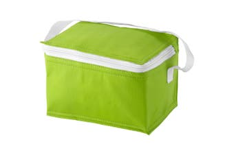Bullet Spectrum 6 Can Cooler Bag (Apple Green) (20 x 15 x 12 cm)