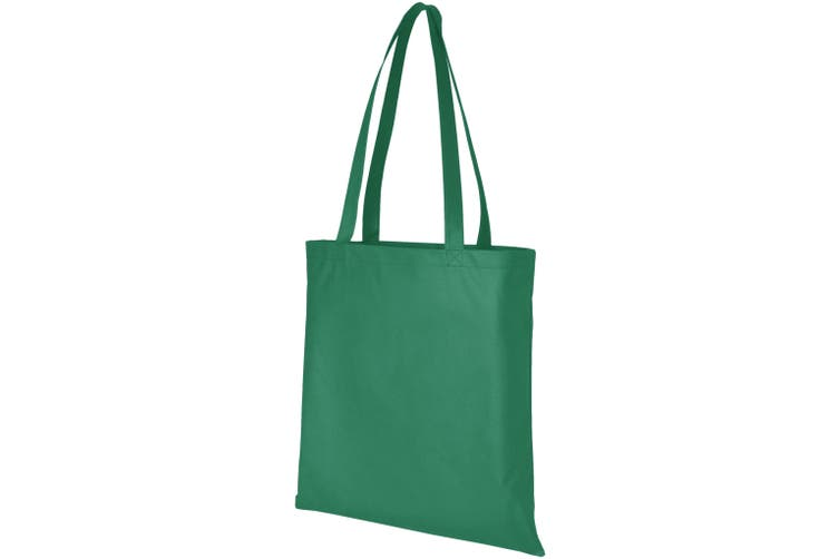 Bullet Zeus Non Woven Convention Tote (Green) (One Size)