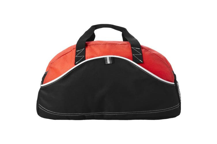 Bullet Boomerang Duffel Bag (Black/Red) (44 x 22 x 26 cm)