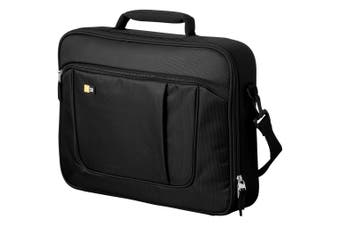 Case Logic 15.6 Laptop And Ipad Briefcase (Solid Black) (40 x 6 x 29 cm)