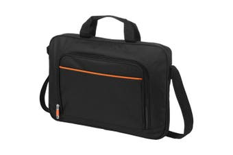 Avenue Harlem 14 Laptop Conference Bag (Solid Black) (36.7 x 4.8 x 26.7 cm)