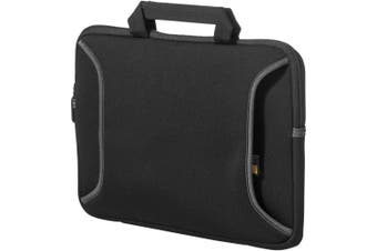 Case Logic 12.1in Chromebook Sleeve (Solid Black) (29 x 2.5 x 23.5 cm)