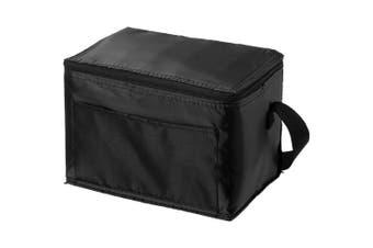 Bullet Kumla Lunch Cooler Bag (Solid Black) (20.3 x 15.2 x 15.2 cm)