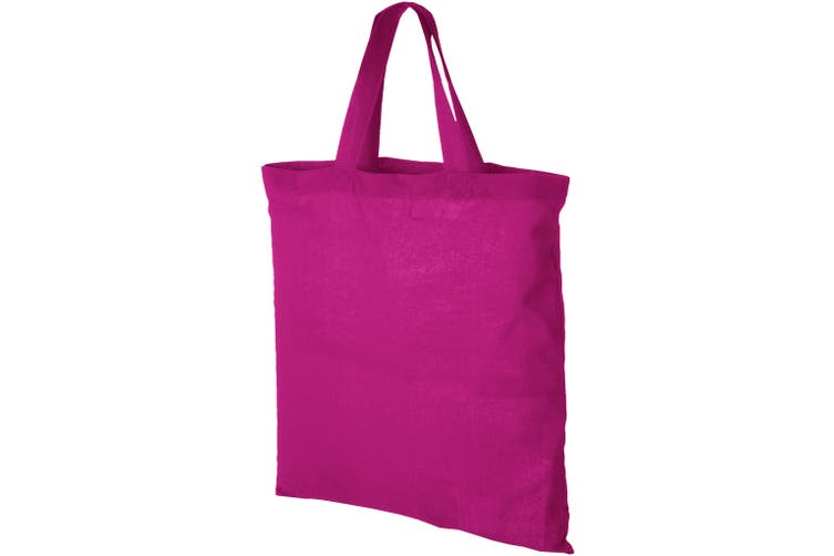 Bullet Virginia Cotton Tote (Pink) (One Size)