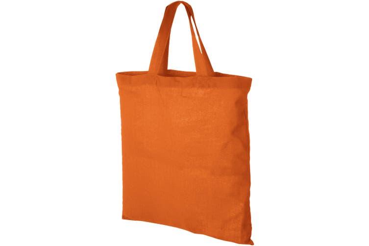 Bullet Virginia Cotton Tote (Orange) (One Size)