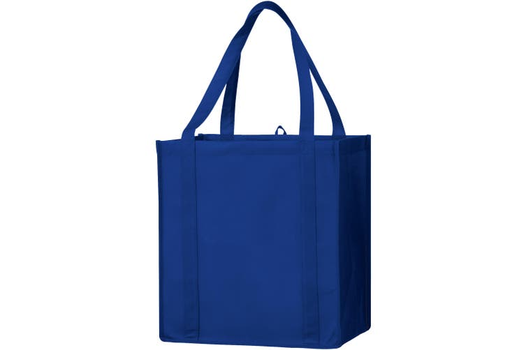 Bullet The Non Woven Little Juno Grocery Tote (Royal Blue) (30.4 x 20.3 x 33cm)