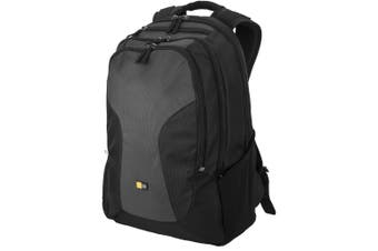 Case Logic Intransit 15.6in Laptop And Tablet Backpack (Solid Black/Grey) (29 x 13 x 44.5cm)