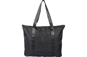 Luxe Stresa Large Travel Tote (Solid Black) (60 x 10.5 x 43.2 cm)