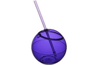 Bullet Fiesta Ball And Straw (Purple) (23 x 12 cm)