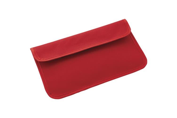 Bullet RFID Blocker Phone Case (Red) (22 x 12 cm)