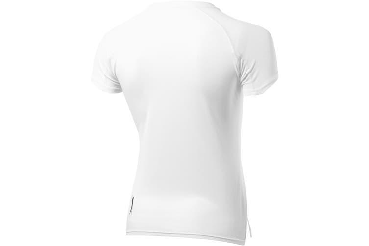Slazenger Serve Short Sleeve Ladies T-Shirt (White) (XXL)