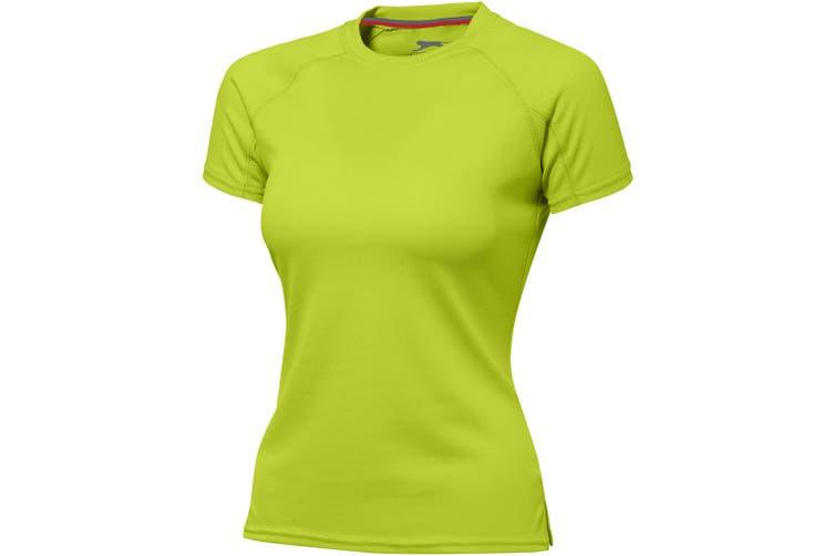 Slazenger Serve Short Sleeve Ladies T-Shirt (Apple Green) (XL)