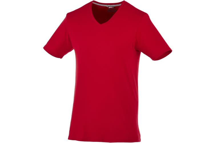 Slazenger Mens Bosey Short Sleeve T-Shirt (Dark Red) (M)
