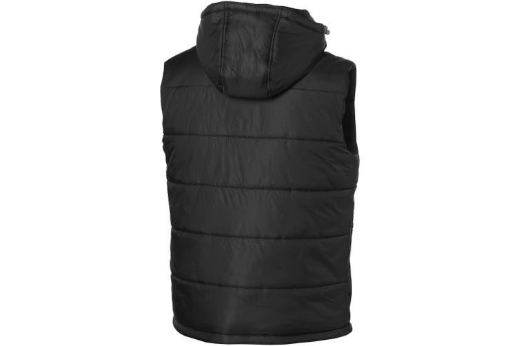 Slazenger Mens Mixed Doubles Bodywarmer (Solid Black) (S)