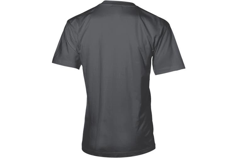 Slazenger Mens Return Ace Short Sleeve T-Shirt (Dark Grey) (M)