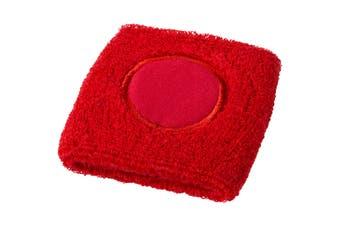 Bullet Hyper Sport Wristband (Red) (7.5 x 7 x 1 cm)