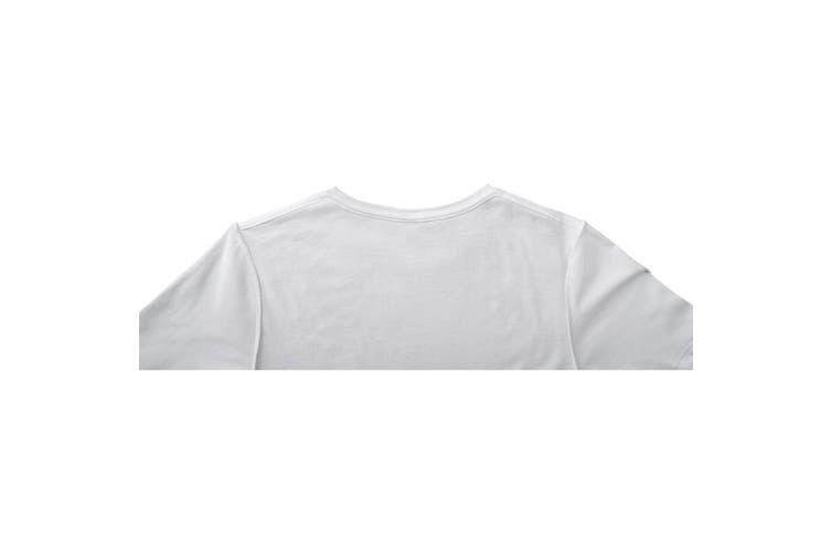 Elevate Mens Finney Short Sleeve T-Shirt (White) (XXS)