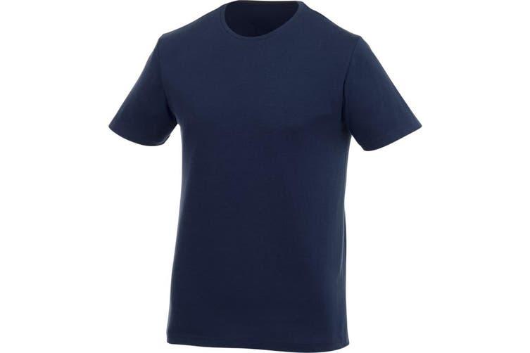 Elevate Mens Finney Short Sleeve T-Shirt (Navy) (XXXL)