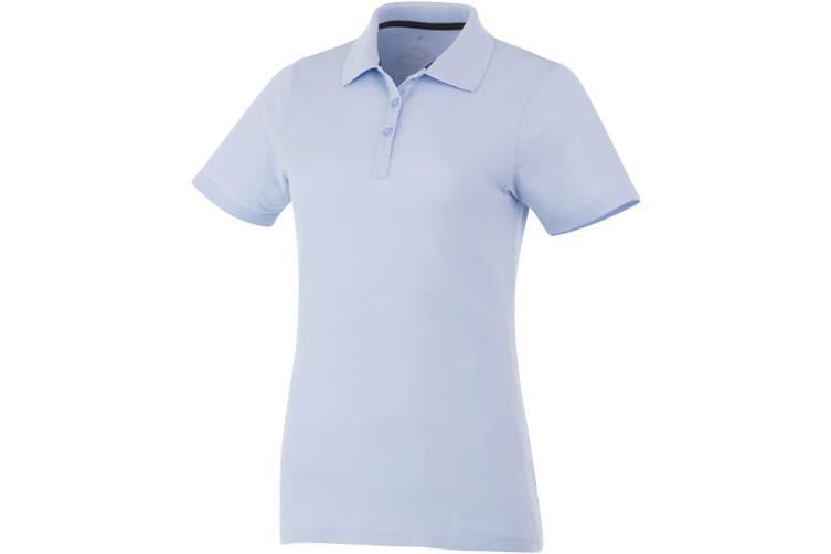Elevate Primus Short Sleeve Ladies Polo (Light Blue) (S)