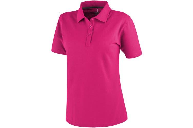 Elevate Primus Short Sleeve Ladies Polo (Pink) (XXL)