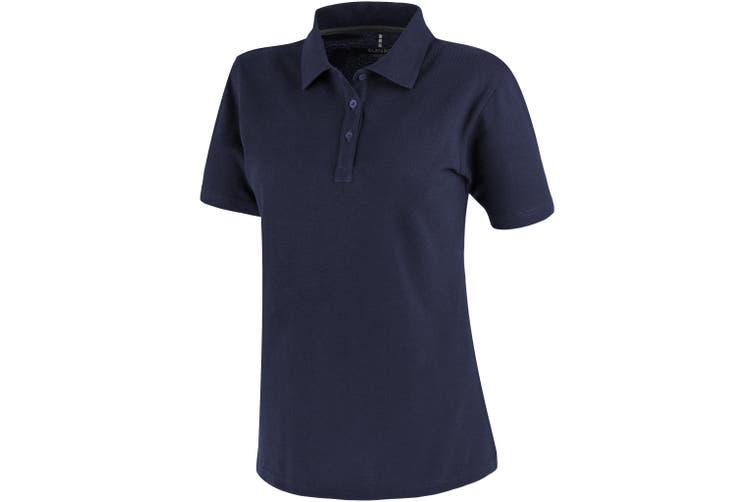 Elevate Primus Short Sleeve Ladies Polo (Navy) (L)