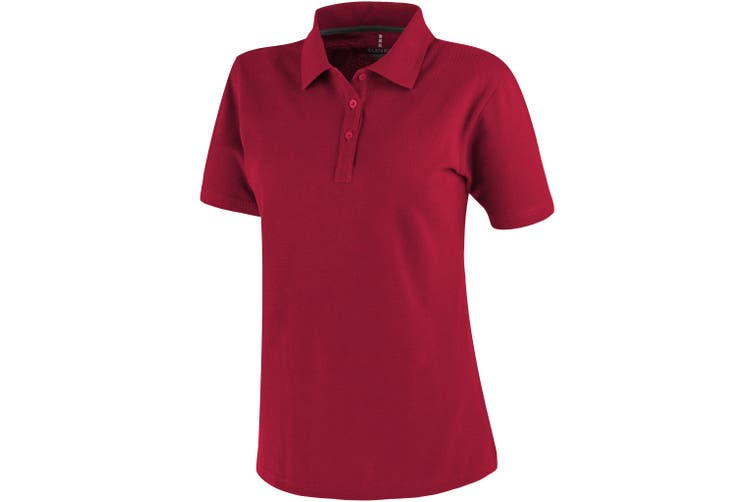 Elevate Primus Short Sleeve Ladies Polo (Red) (XL)