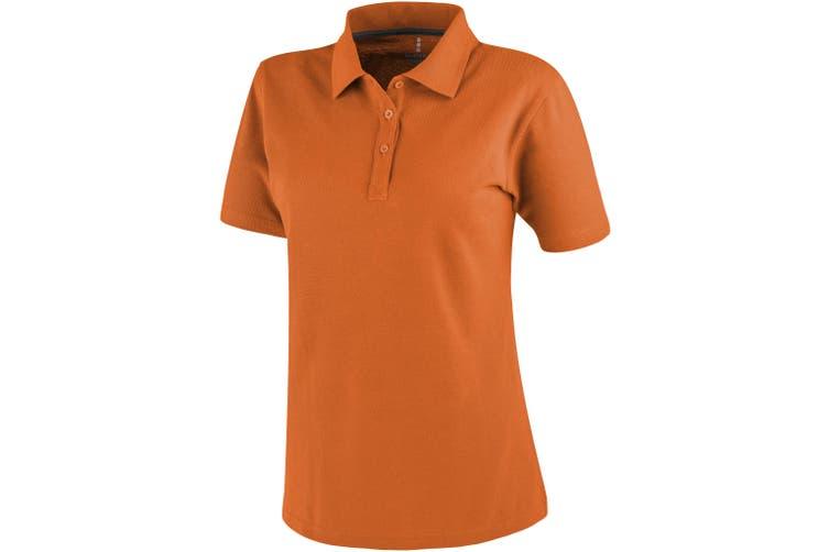Elevate Primus Short Sleeve Ladies Polo (Orange) (XXL)