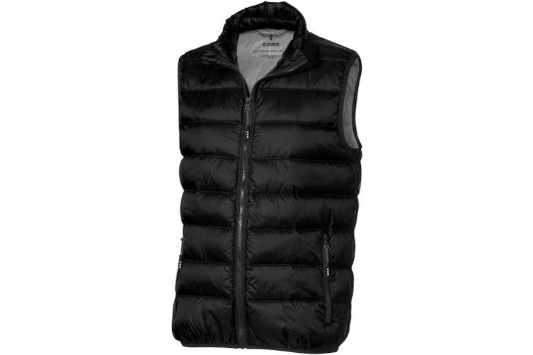 Elevate Mens Mercer Insulated Bodywarmer (Solid Black) (L)