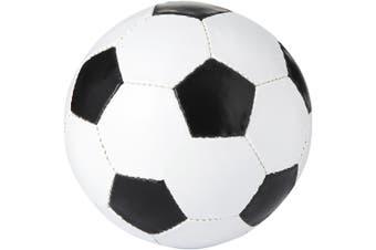 Bullet Curve Football (White/Solid Black) (21 cm)