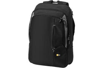 Case Logic 17in Laptop Backpack (Solid Black) (31 x 13 x 44 cm)