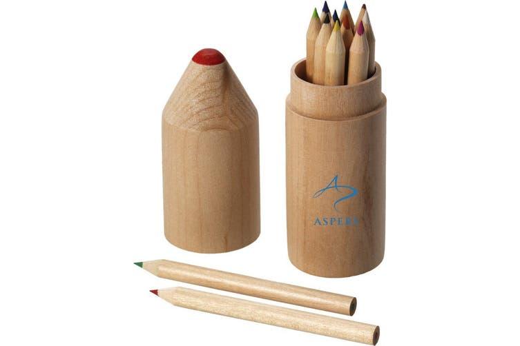 Bullet 12 Piece Pencil Set (Wood) (One Size)