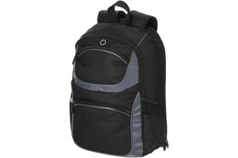 Avenue Continental 15.4In Laptop Backpack (Solid Black) (One Size)