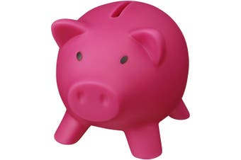 Bullet Piggy Bank (Pink) (One Size)