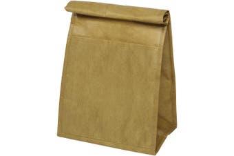 Bullet Paper Cooler Bag (Brown) (One Size)