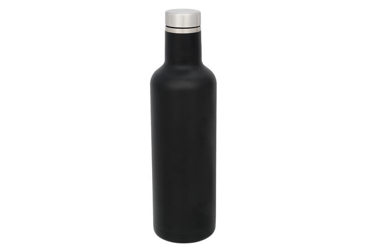 Avenue Pinto Copper Vacuum Insulated Bottle (Black) (One Size)